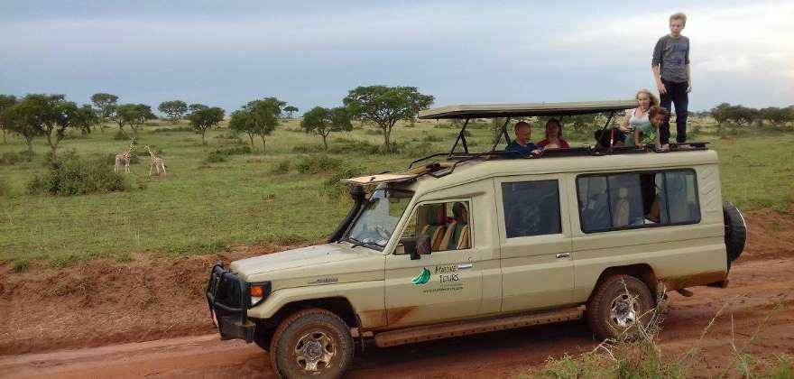 4x4 Safari land Cruiser - Matoke Tours