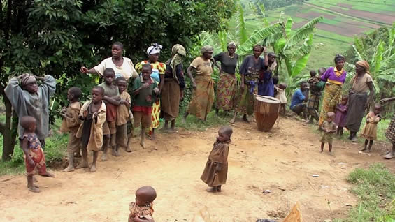 Entertainment from Batwa People