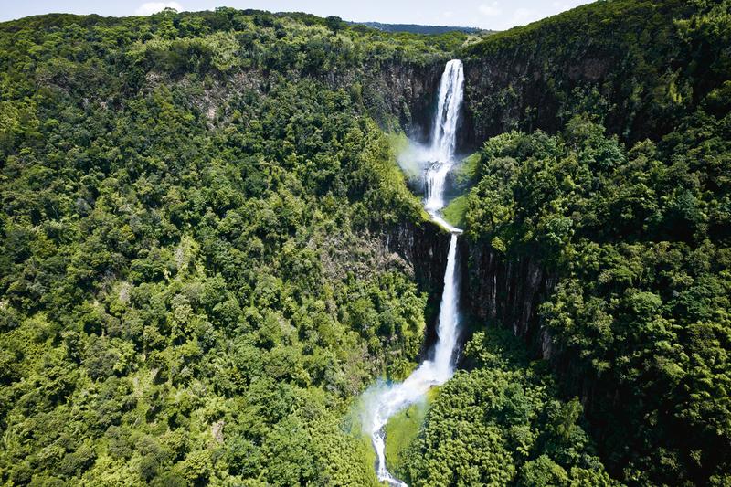 Karuru Falls, Aberdare National park Kenya